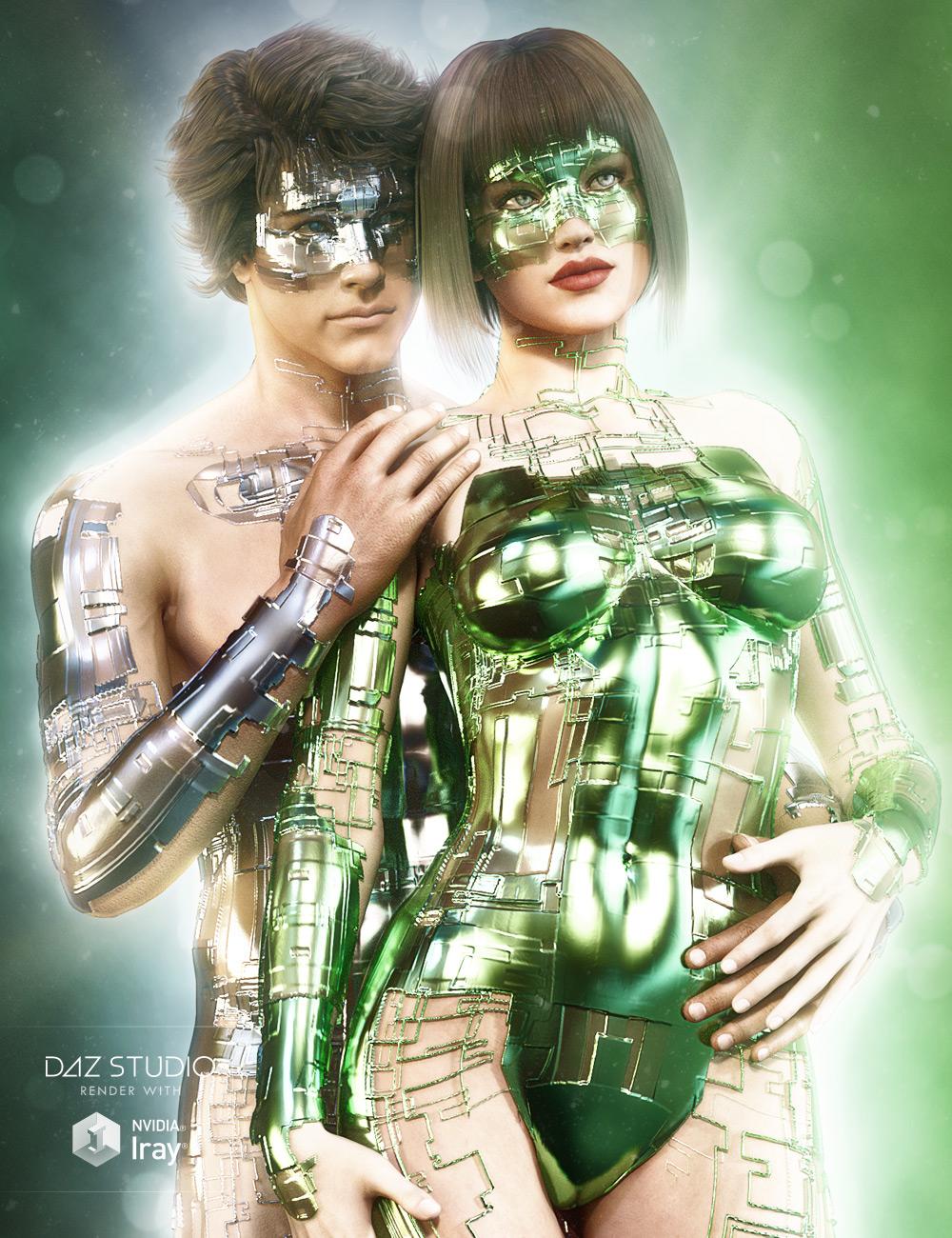 Jepe's Body Jewels 3 for Daz Studio by: Jepe, 3D Models by Daz 3D