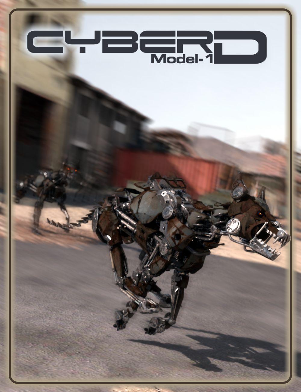 CyberD Model 1 by: DzFire, 3D Models by Daz 3D