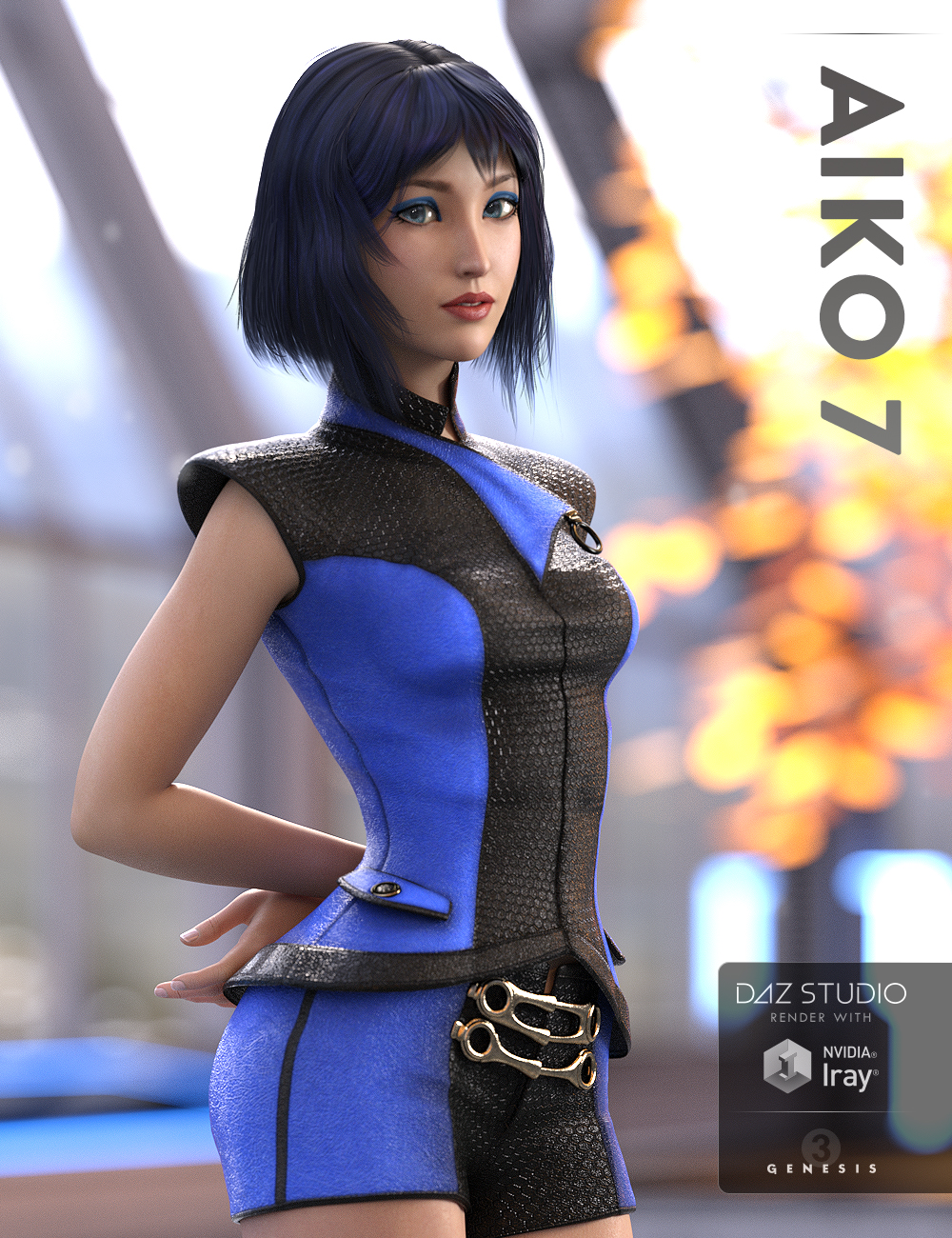 Aiko 7 by: , 3D Models by Daz 3D