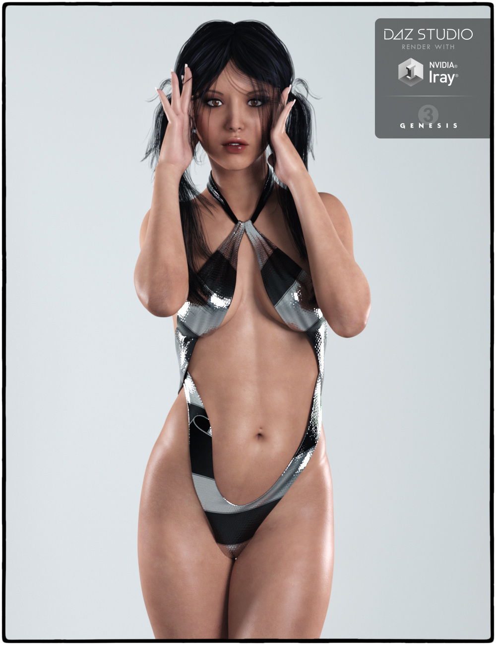 Melisa for Genesis 3 Female(s) by: Digital Touch, 3D Models by Daz 3D