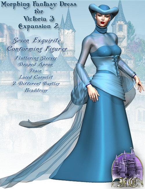 Expansion Pack 2 for V3 MFD by: Lourdes, 3D Models by Daz 3D