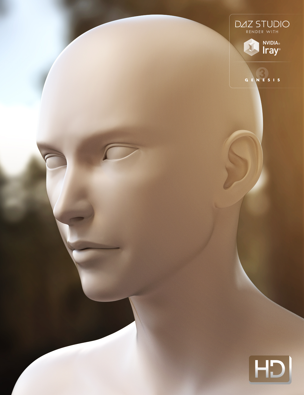 Kenji 7 HD Add-On by: , 3D Models by Daz 3D