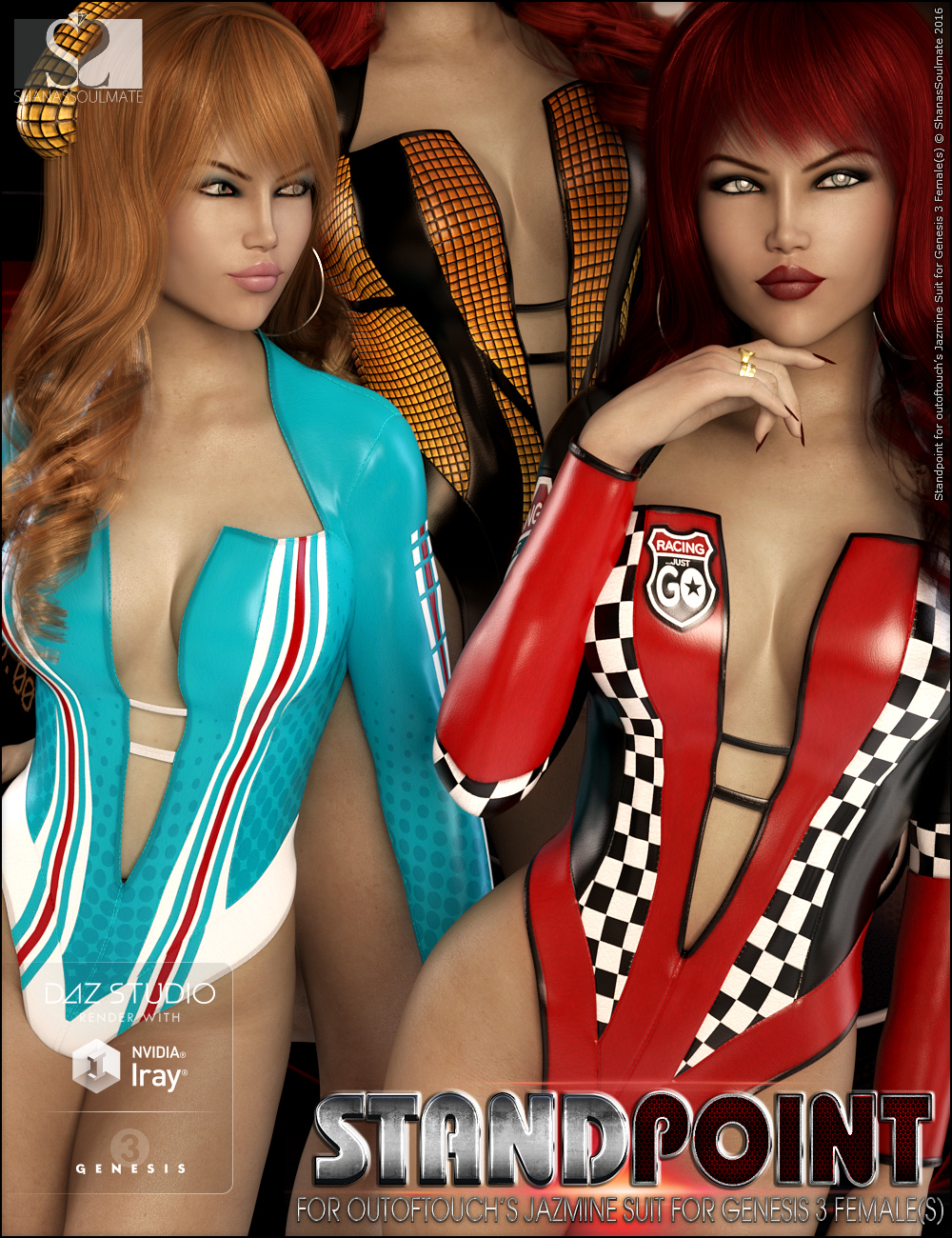 Jazmine Suit Standpoint Textures by: ShanasSoulmate, 3D Models by Daz 3D