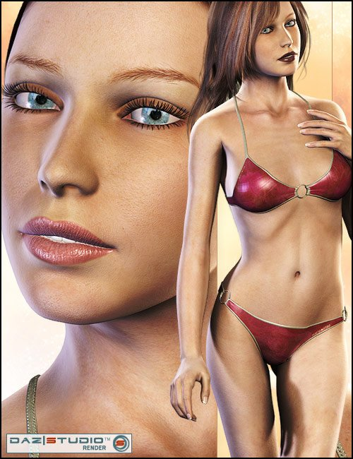 Victoria 4 Skin Maps (High Res) by: , 3D Models by Daz 3D