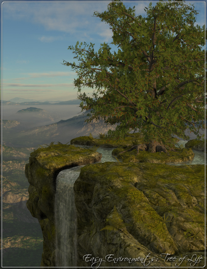 Easy Environments: Tree of Life by: Flipmode, 3D Models by Daz 3D