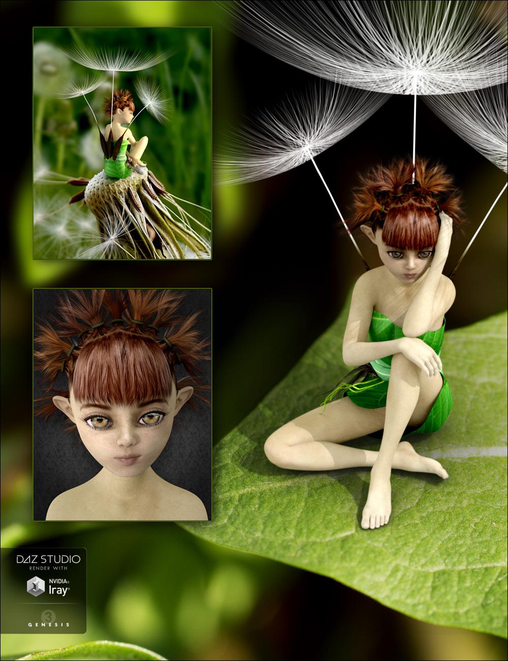 Dandelion Bundle by: DarkStarBurningMindVision G.D.S., 3D Models by Daz 3D