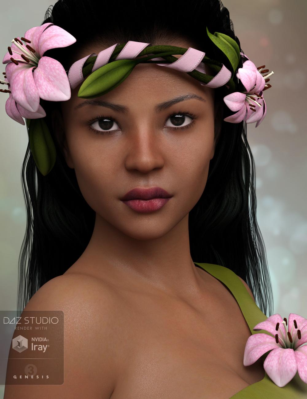 P3D Aluna by: P3Design, 3D Models by Daz 3D
