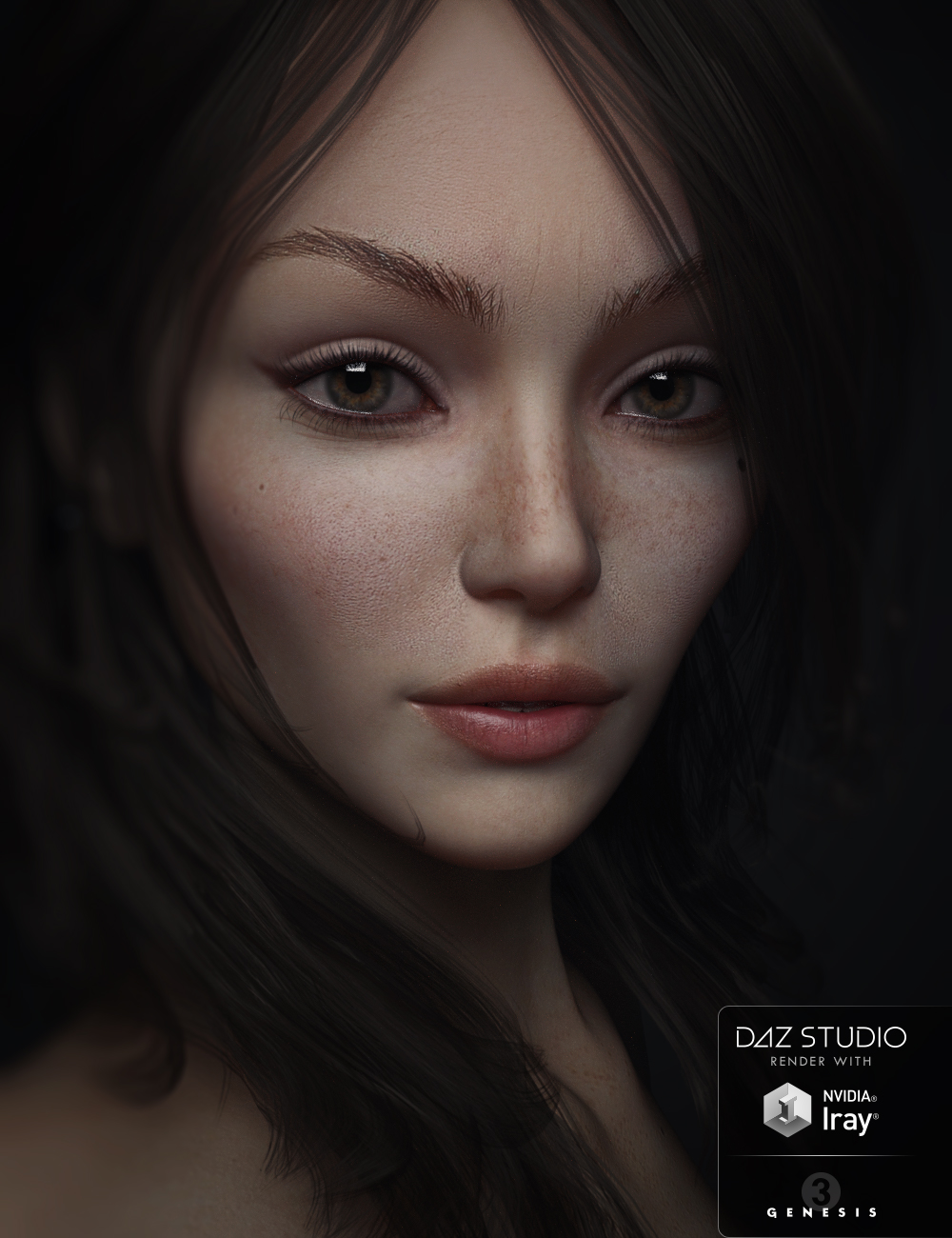 SC Sally for Genesis 3 Female by: Second-Circle, 3D Models by Daz 3D