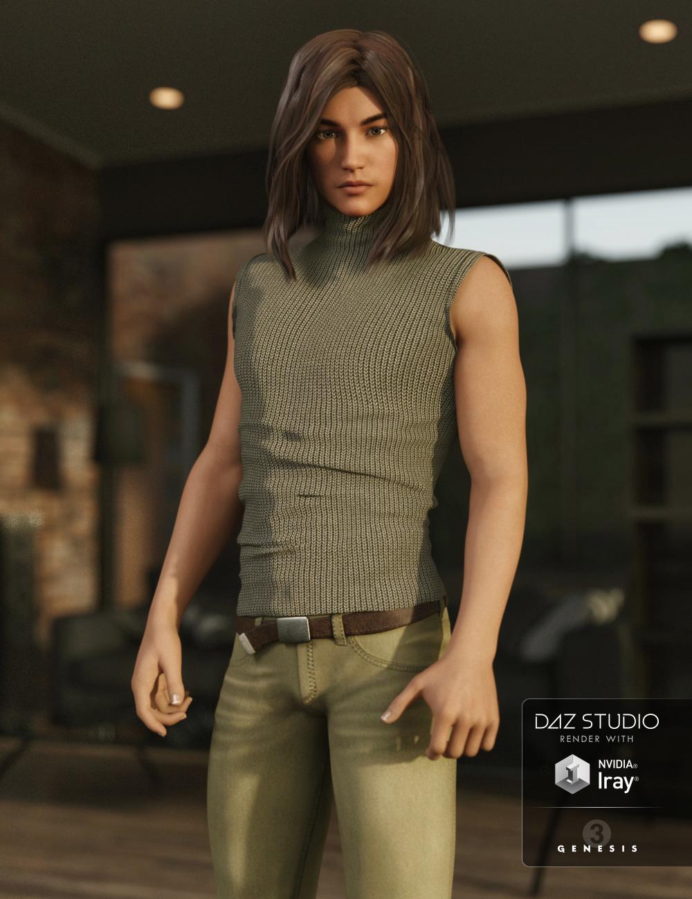 Sasori for Kenji 7 by: RazielJessaii, 3D Models by Daz 3D