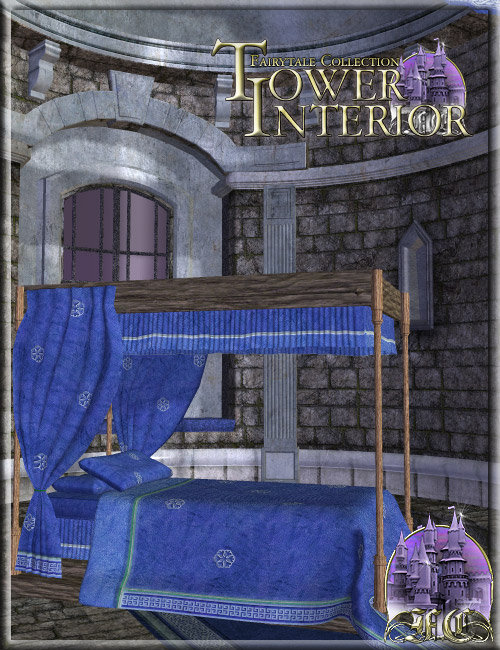 Fairytale Collection - Tower Interior by: , 3D Models by Daz 3D