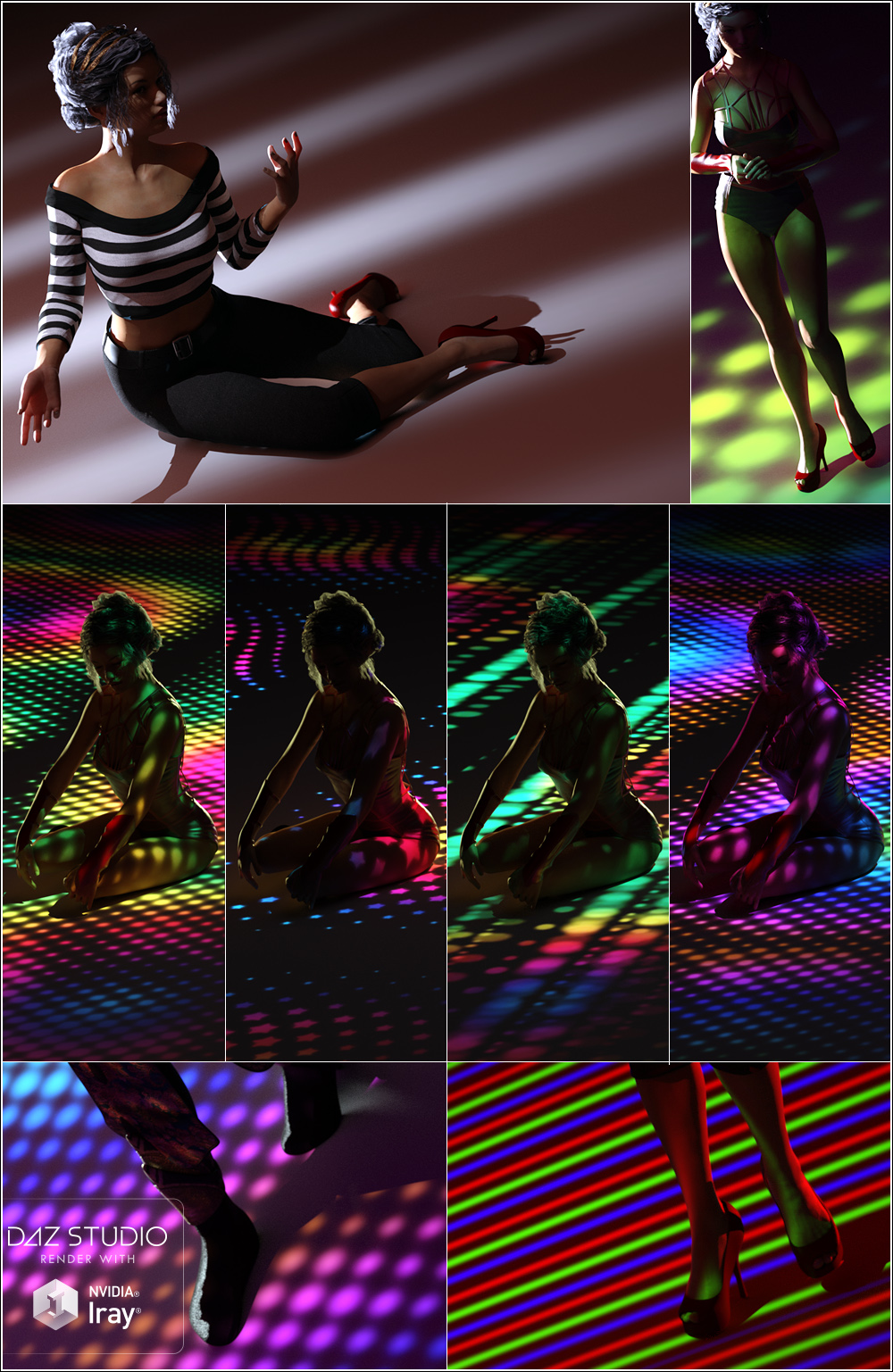 Light 2 Life Light Gels for Iray by: ForbiddenWhispers, 3D Models by Daz 3D