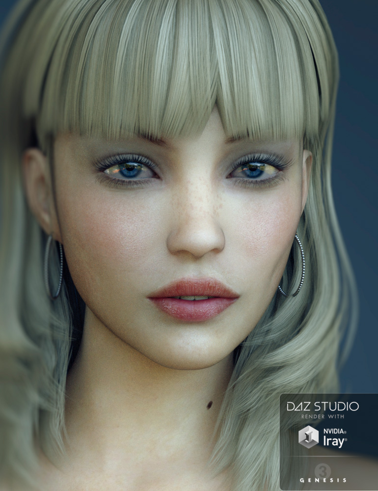 SC Joy for Genesis 3 Female by: Second-Circle, 3D Models by Daz 3D