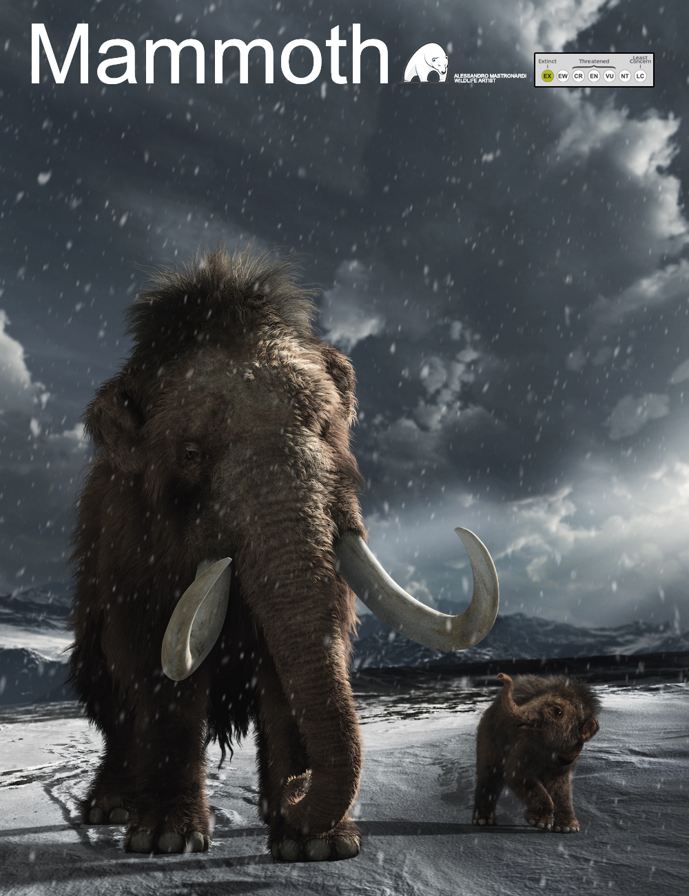 Woolly Mammoth by AM by: Alessandro_AM, 3D Models by Daz 3D