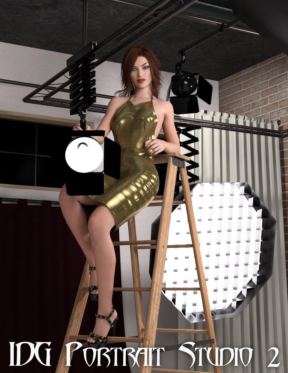 IDG Portrait Studio 2 by: IDG DesignsDestinysGardenInaneGlory, 3D Models by Daz 3D
