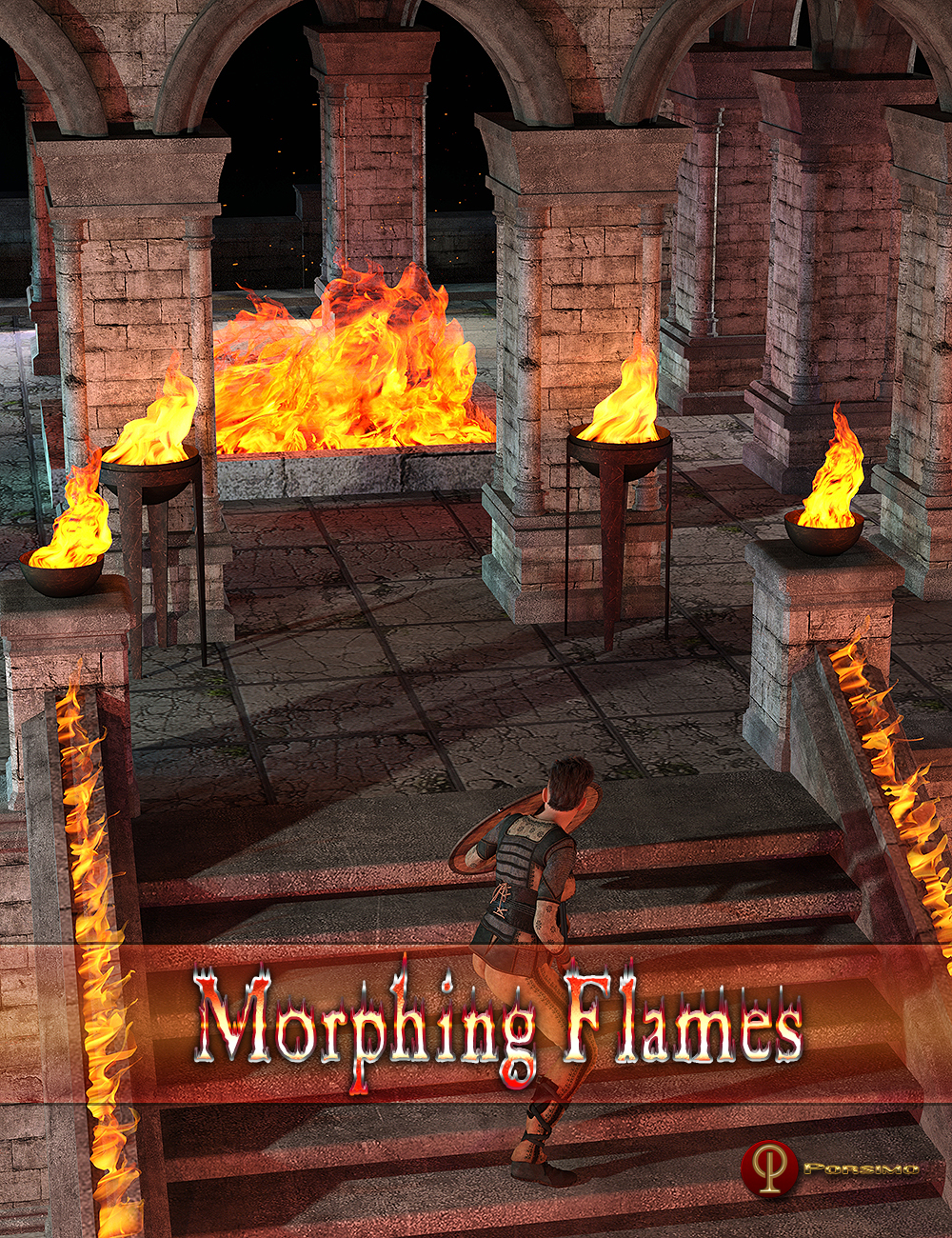 Morphing Flames by: Porsimo, 3D Models by Daz 3D