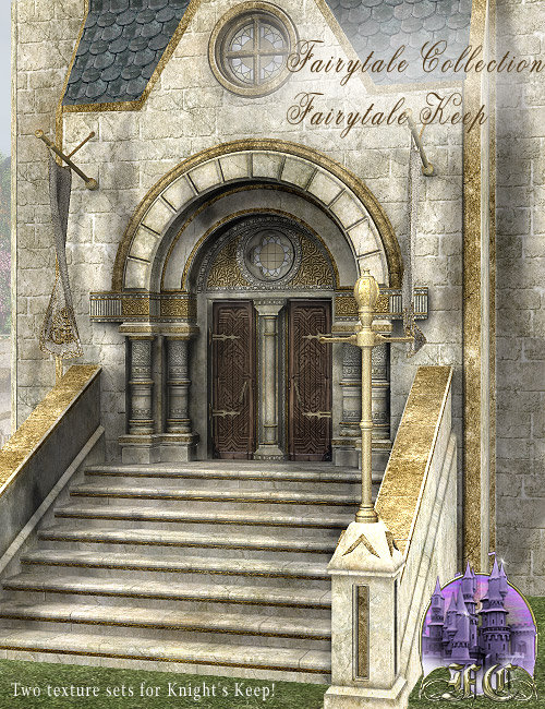 Fairytale Collection - Fairytale Keep by: LaurieS, 3D Models by Daz 3D