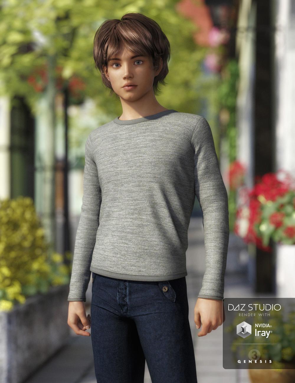 FWSA Max for Tween Ryan 7 by: Fred Winkler ArtSabby, 3D Models by Daz 3D