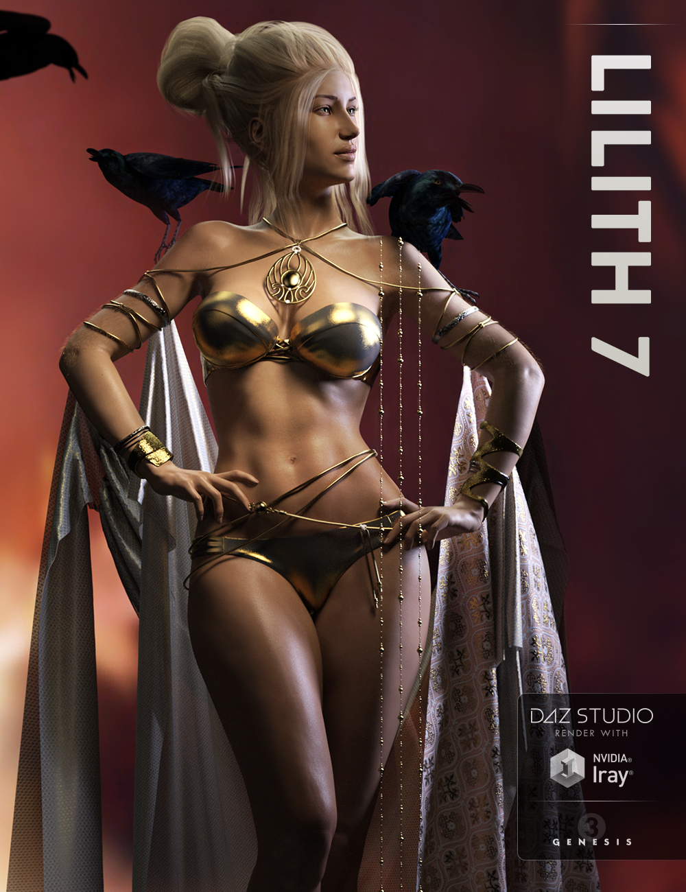 Lilith 7 by: , 3D Models by Daz 3D