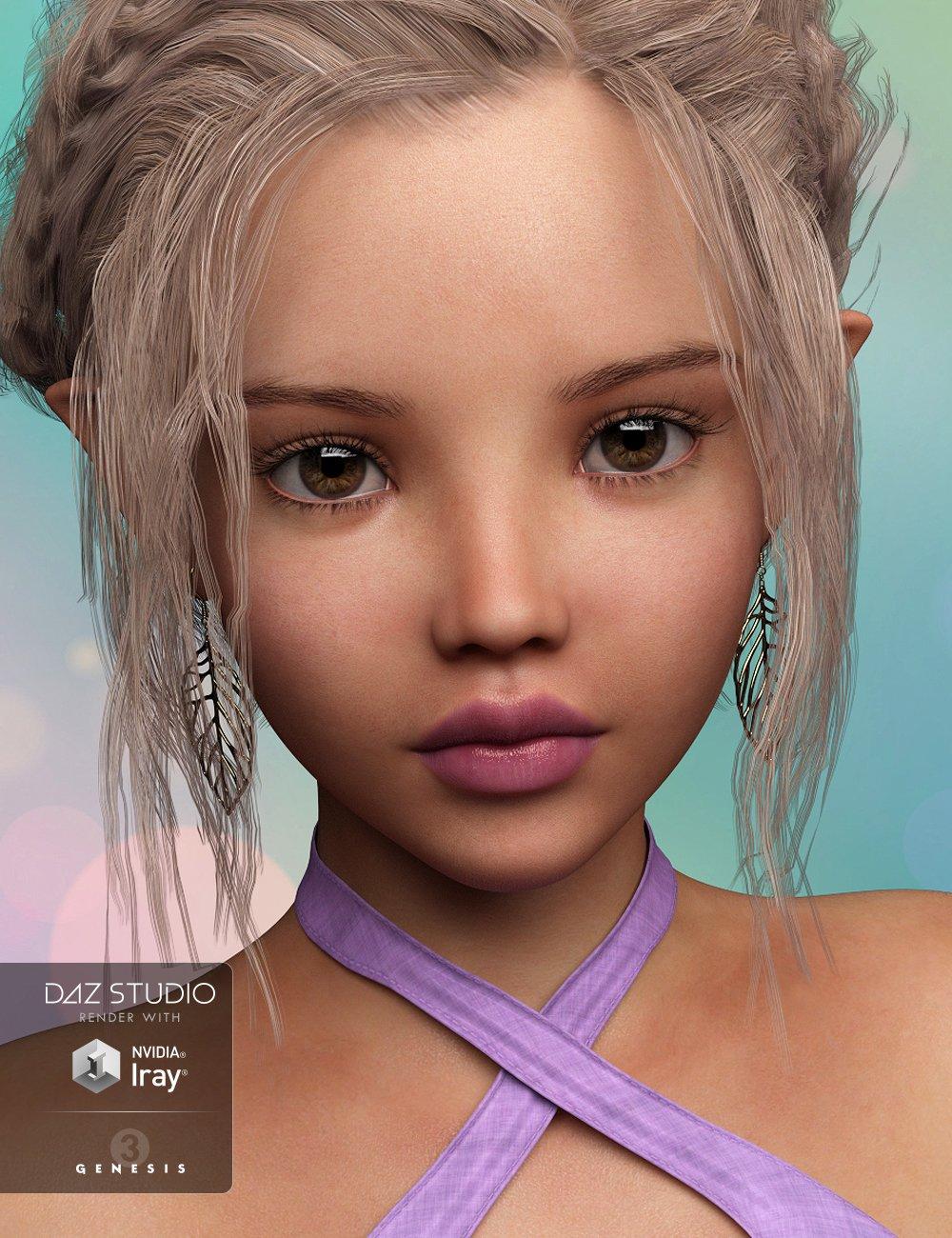 P3D Brita for Tween Julie 7 by: P3Design, 3D Models by Daz 3D