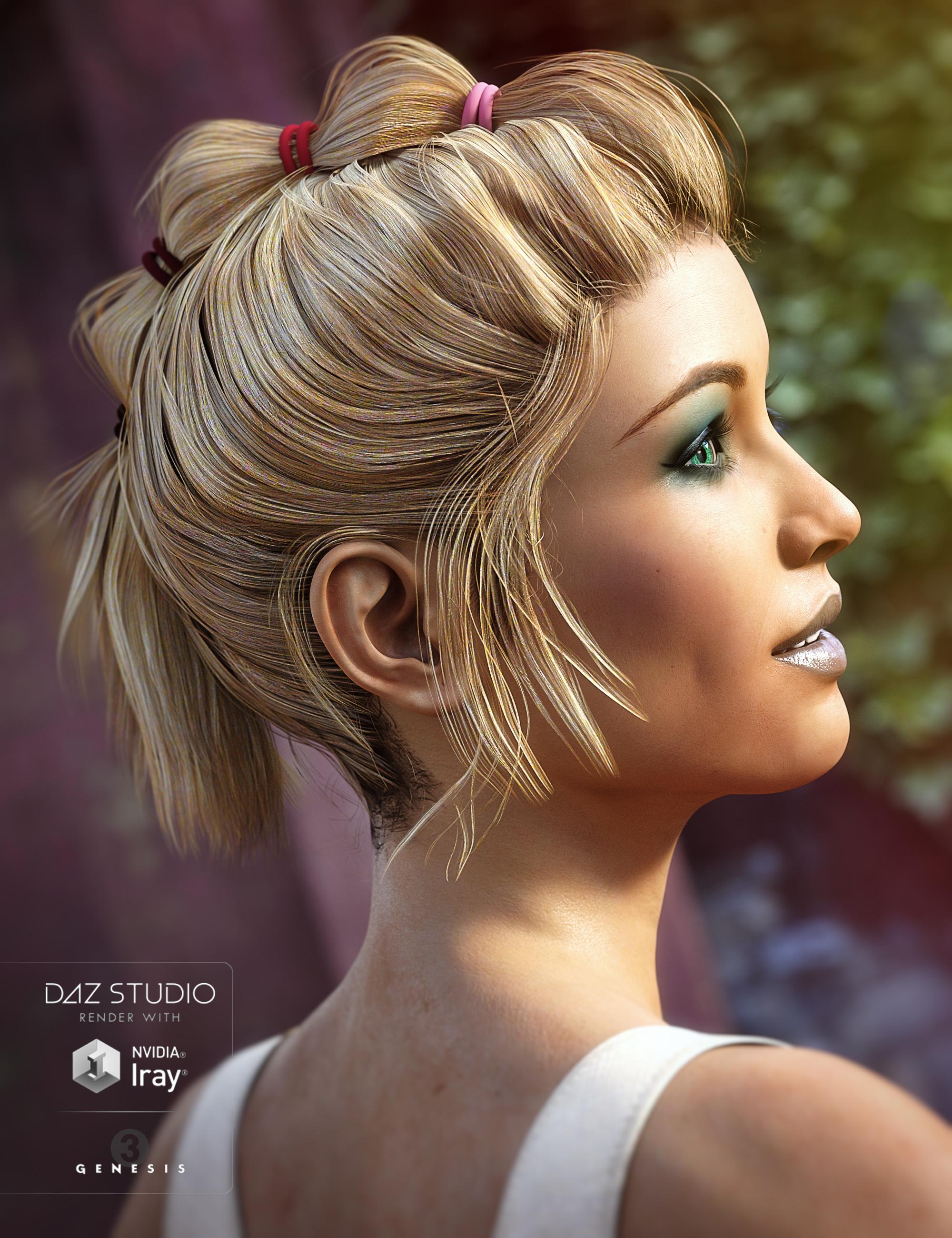 Naughty MoHawk for Genesis 3 Female(s) by: goldtassel, 3D Models by Daz 3D