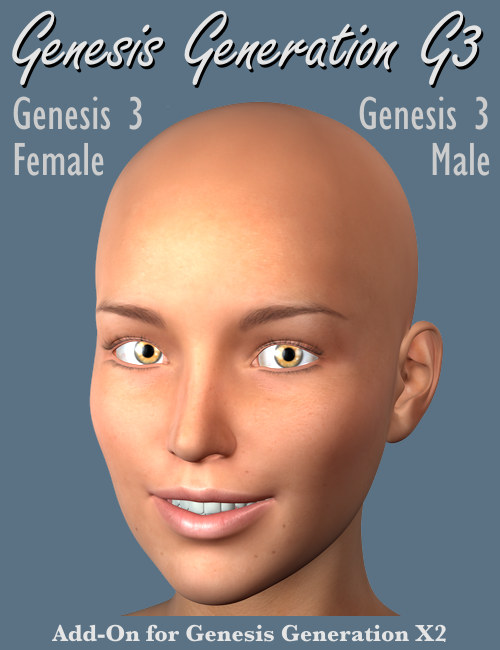 GenX2 AddOn for Genesis 3 by: Dimension3D, 3D Models by Daz 3D