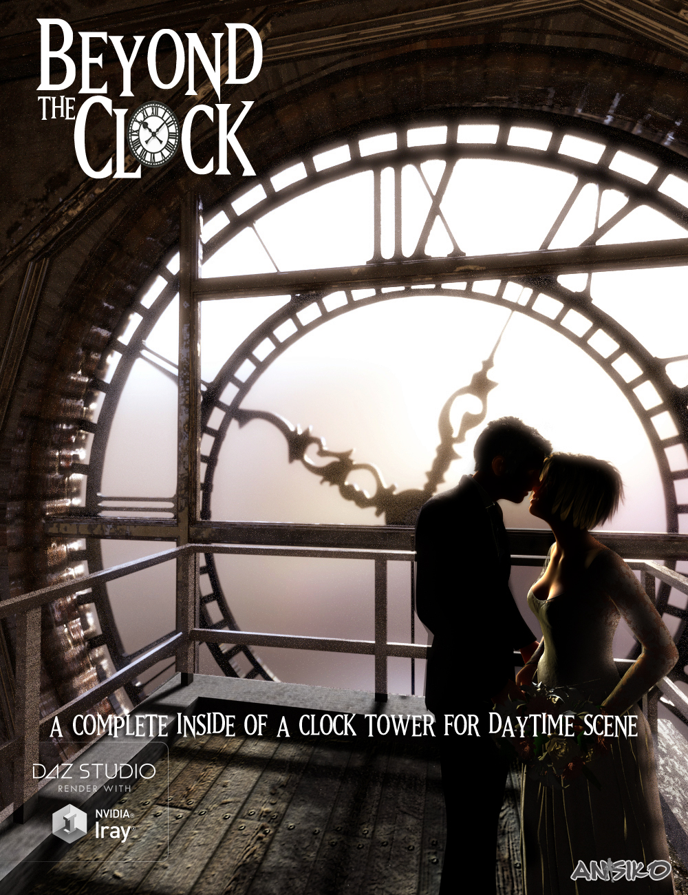 Beyond the Clock by: Ansiko, 3D Models by Daz 3D