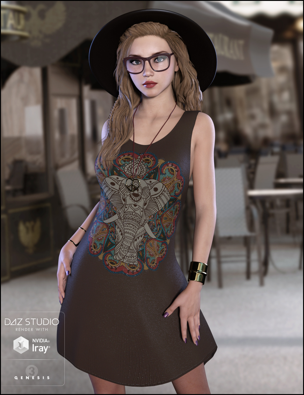 Totally Hipster Outfit Textures by: DemonicaEviliusJessaii, 3D Models by Daz 3D
