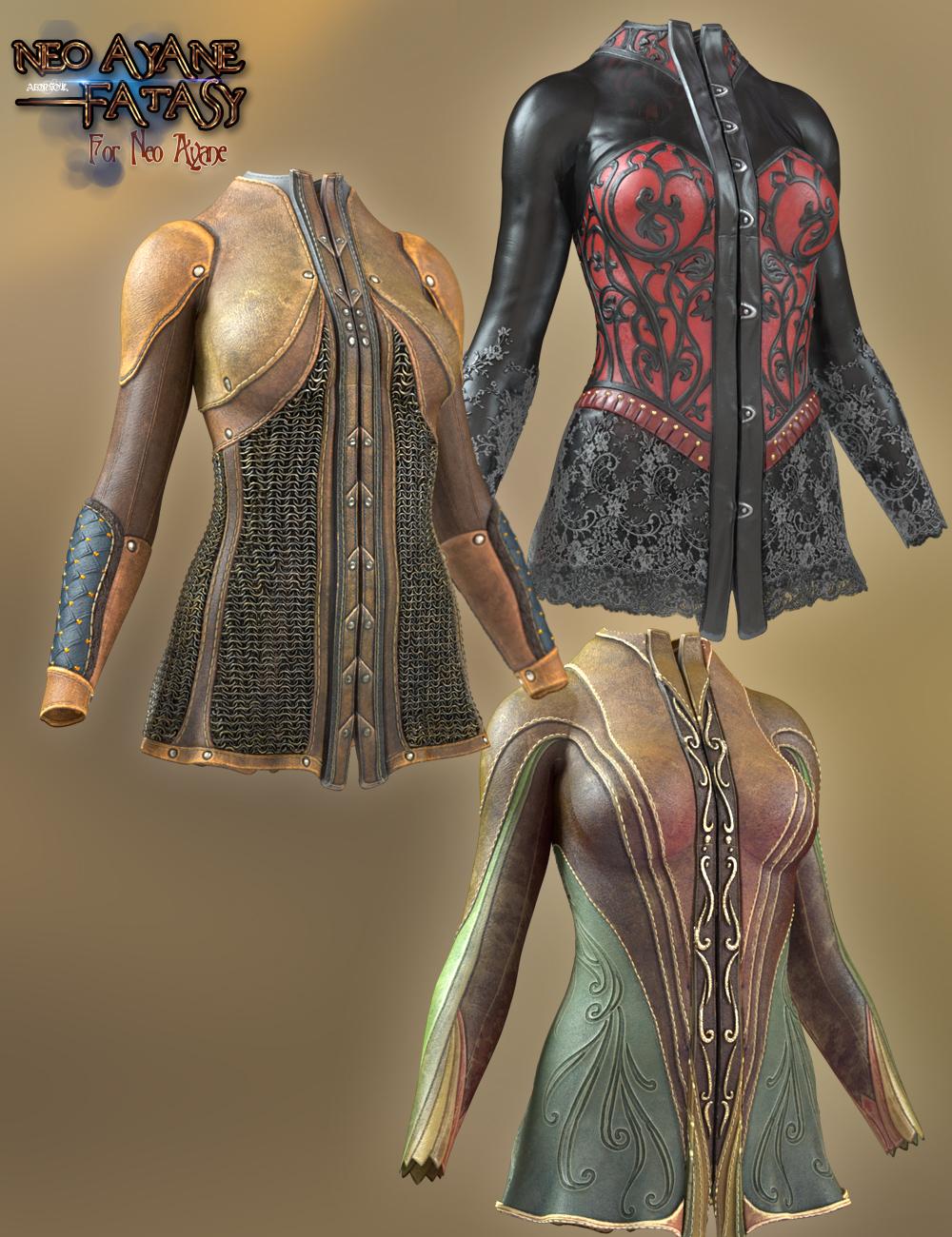 Neo Ayane Fantasy by: Aeon Soul, 3D Models by Daz 3D
