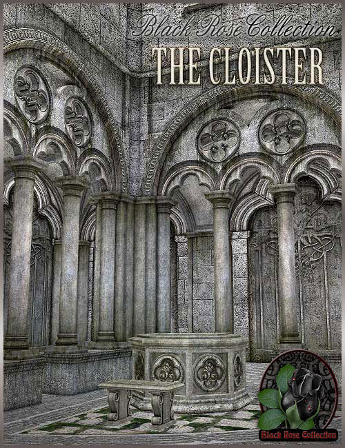 BRC - The Cloister by: , 3D Models by Daz 3D
