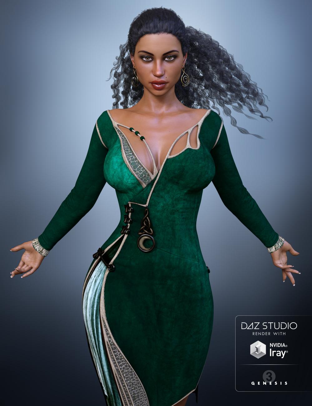 FWSA Shiloh HD for Lilith 7 by: Fred Winkler ArtSabby, 3D Models by Daz 3D