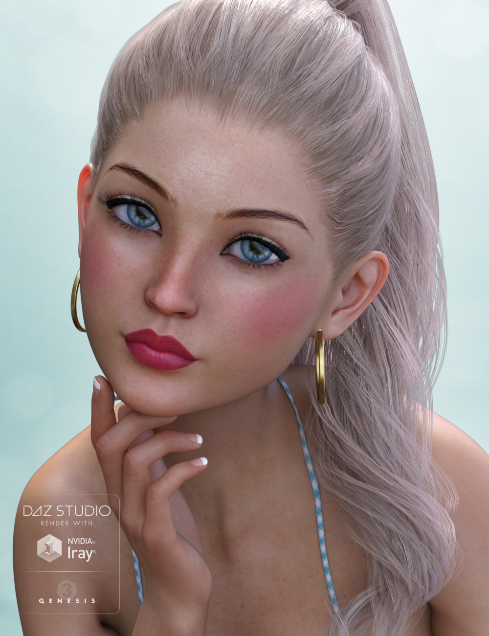 Millie for Aiko 7 by: Freja, 3D Models by Daz 3D