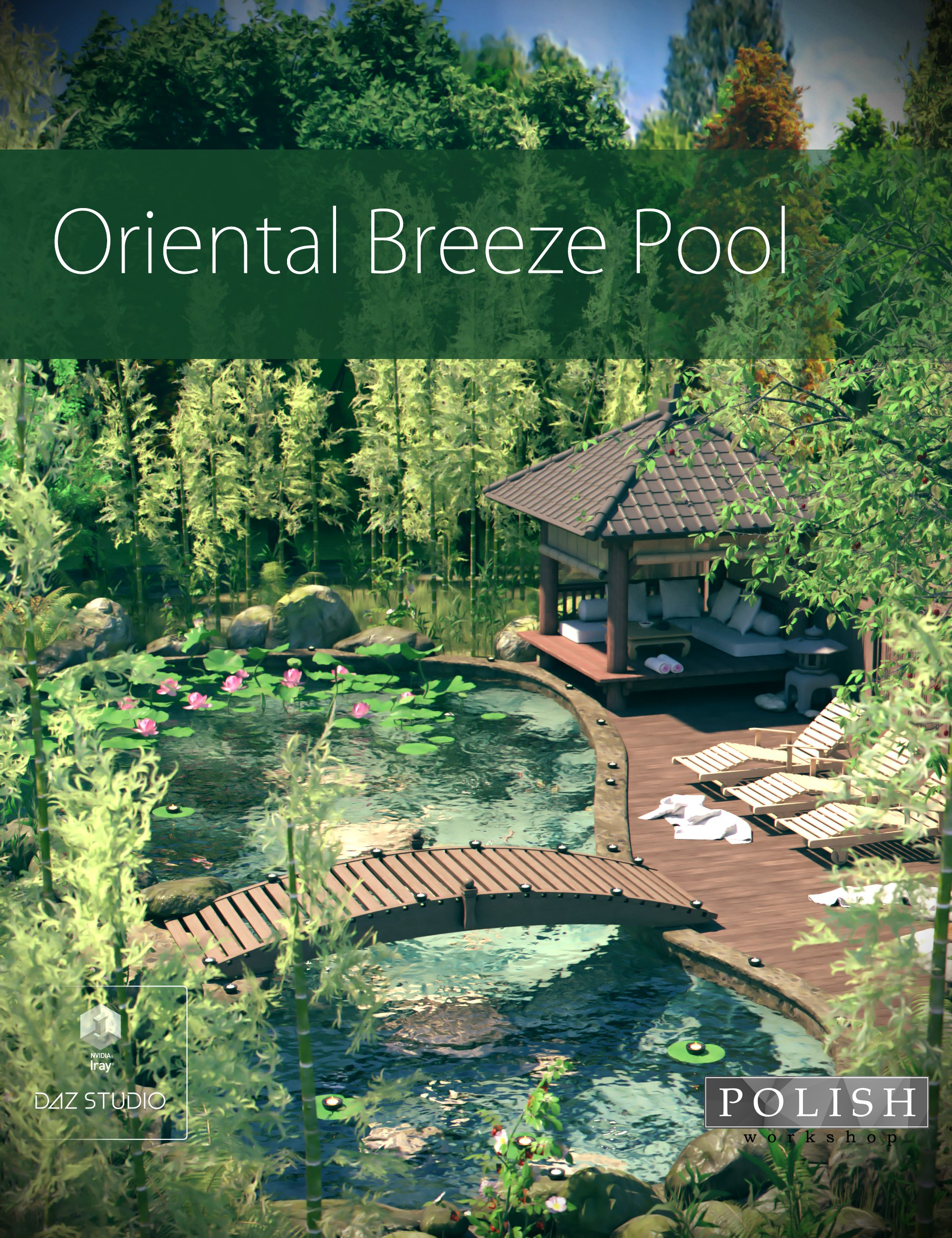 Oriental Breeze Pool by: Polish, 3D Models by Daz 3D
