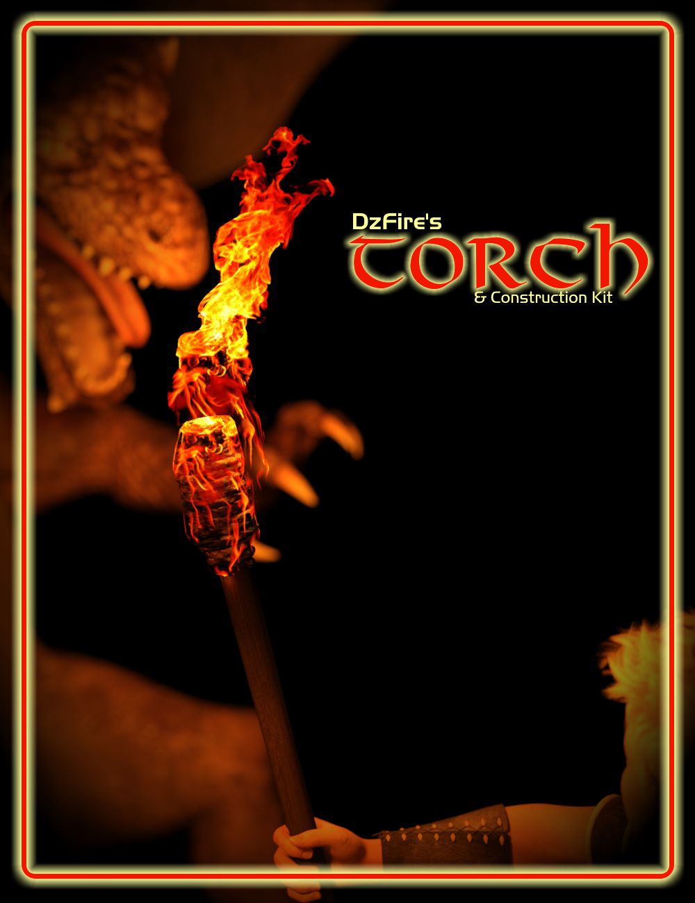 The Torch and Construction Kit by: DzFire, 3D Models by Daz 3D