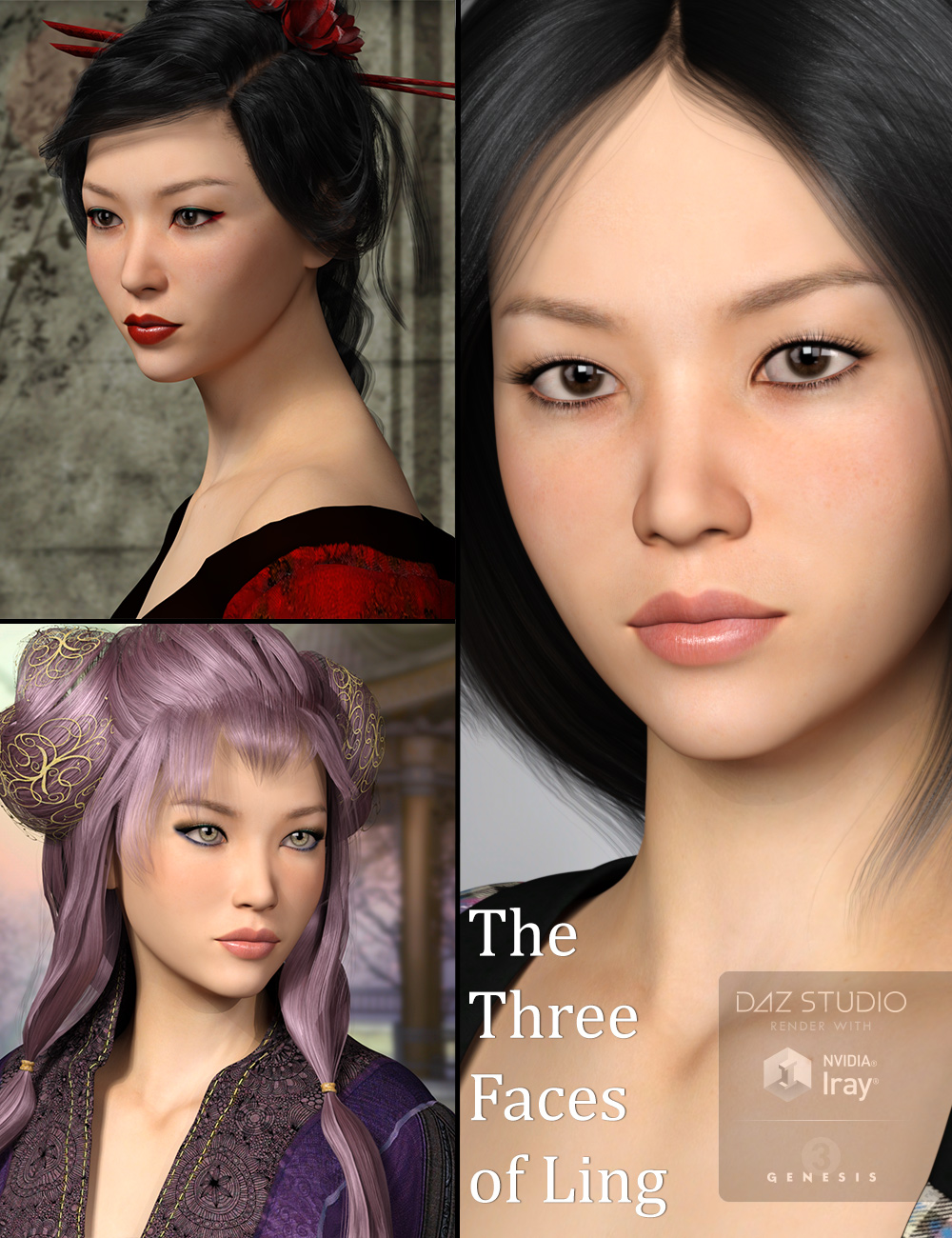 MRL Ling by: Mihrelle, 3D Models by Daz 3D
