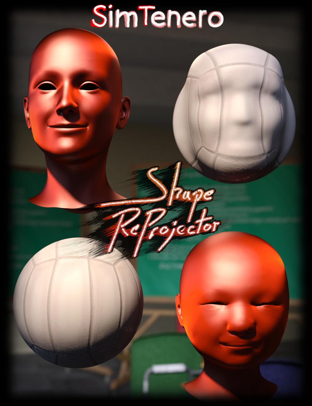 SimTenero Shape Reprojector by: SimTenero, 3D Models by Daz 3D