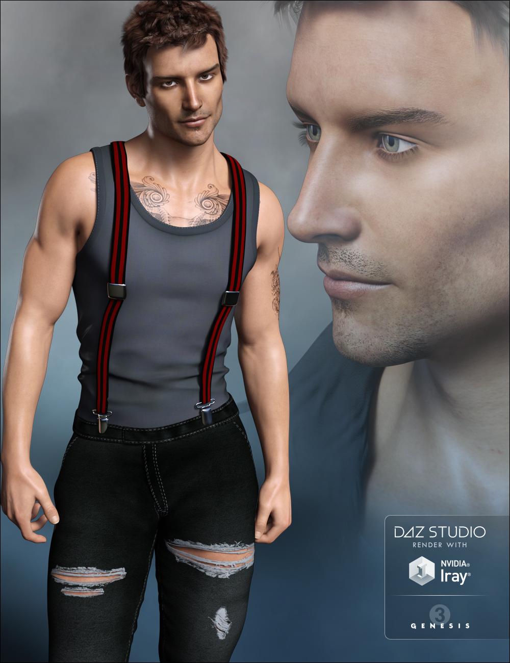 FWSA Liam HD for Michael 7 by: Fred Winkler ArtSabby, 3D Models by Daz 3D
