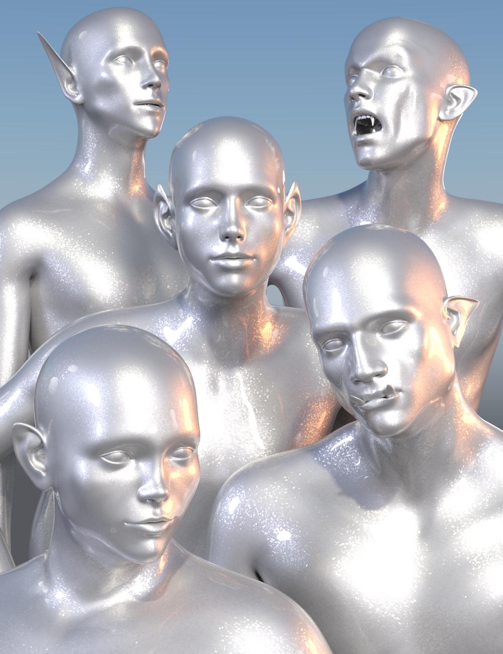 Fantastical Features Genesis 3 Male by: Sickleyield, 3D Models by Daz 3D