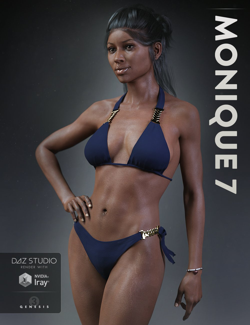 Monique 7 by: , 3D Models by Daz 3D