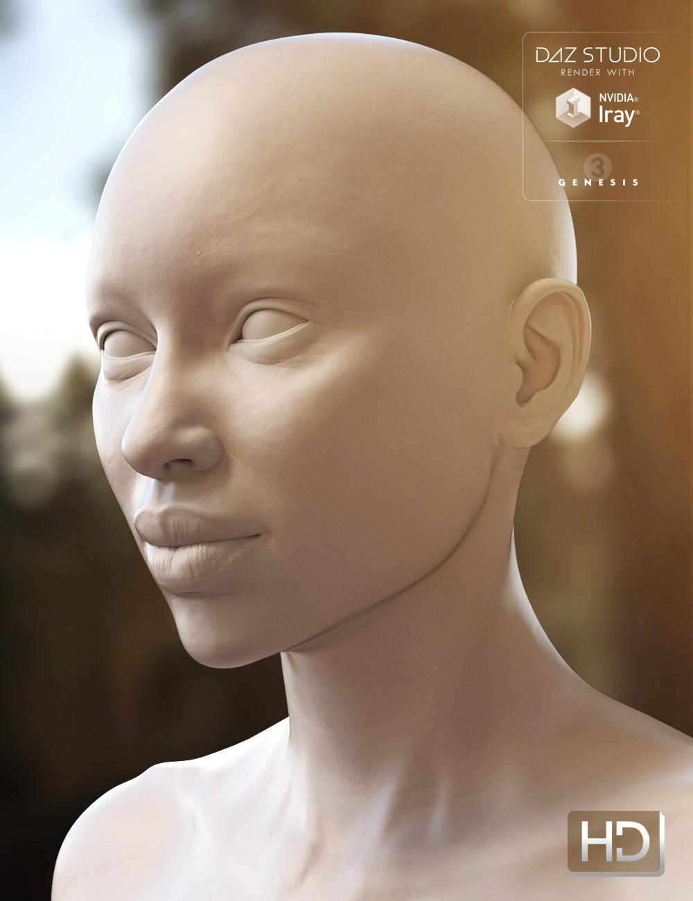 Monique 7 HD Add-On by: , 3D Models by Daz 3D
