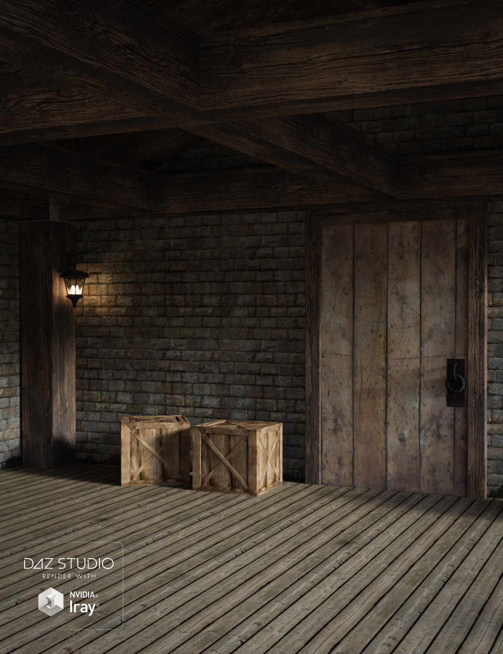 Fantasy Interior by: , 3D Models by Daz 3D
