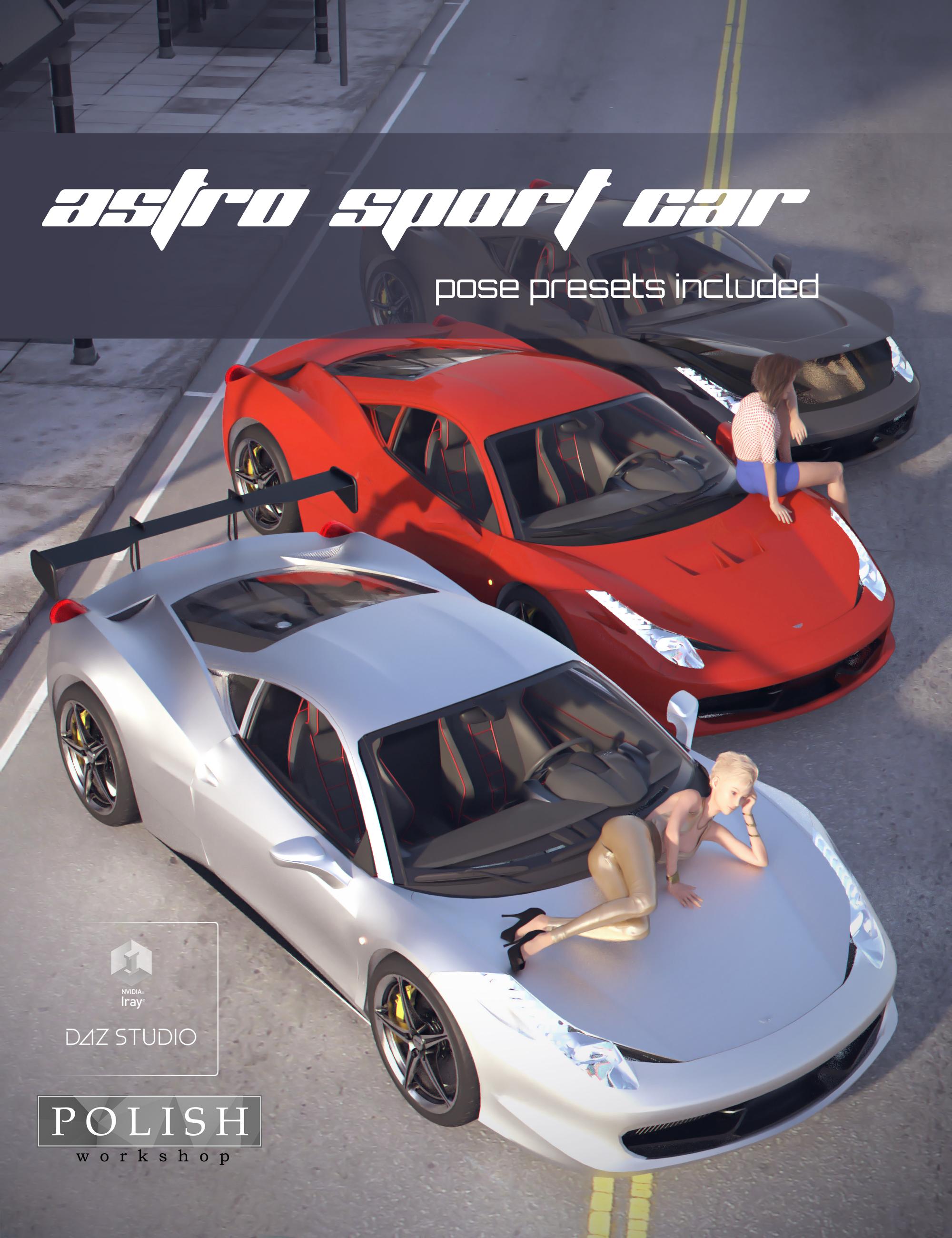 Astro Sport Car by: Polish, 3D Models by Daz 3D