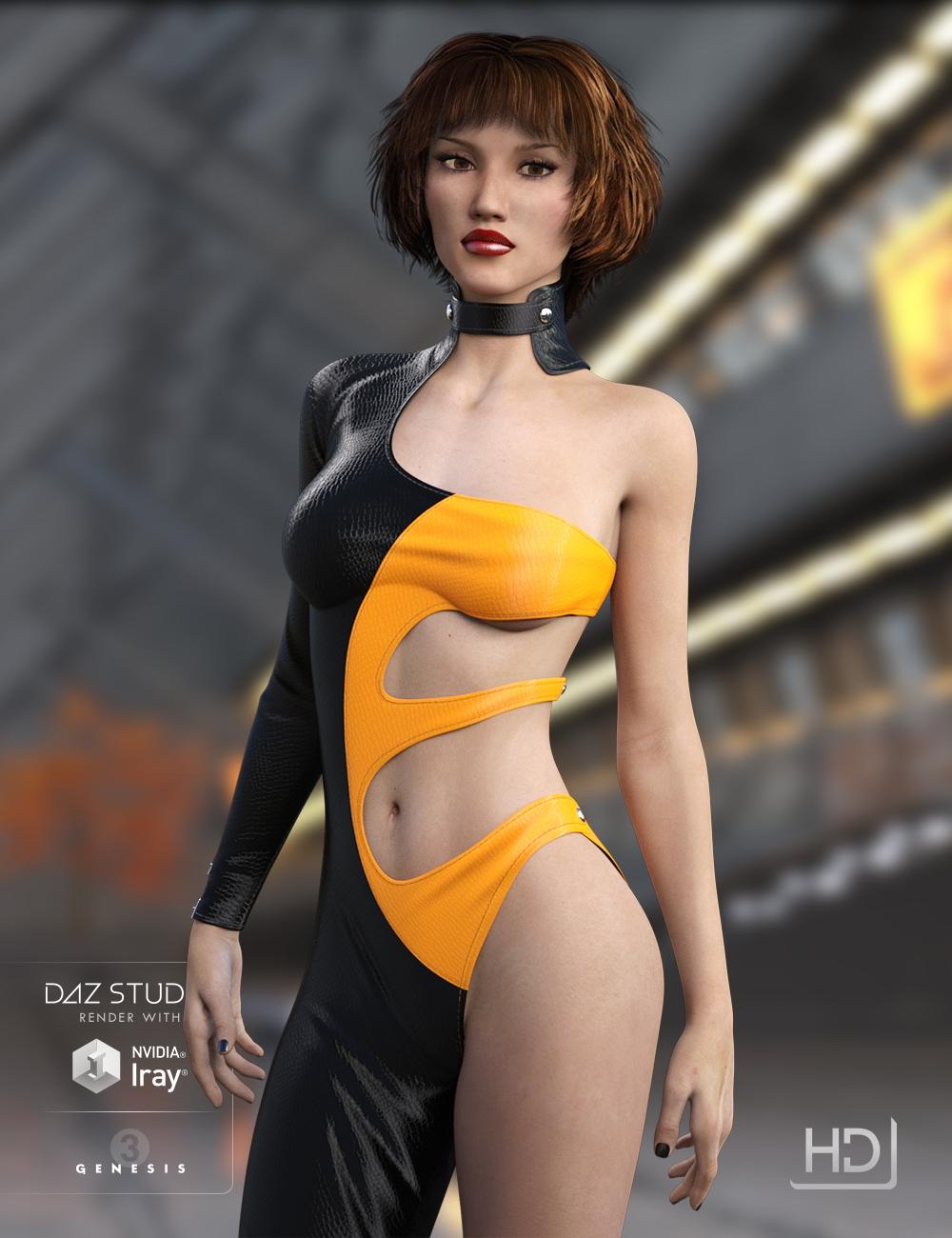 LY Siara HD by: Lyoness, 3D Models by Daz 3D