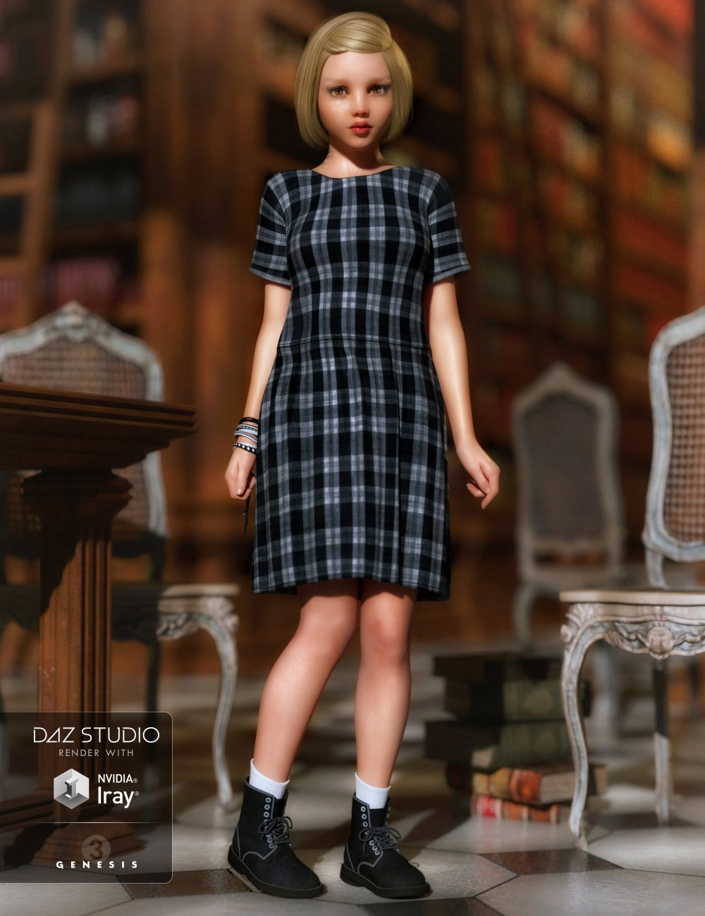 Missy Outfit for Genesis 3 Female(s) by: DirtyFairyMada, 3D Models by Daz 3D