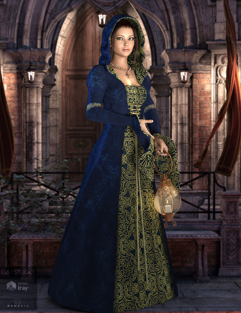 Ayleth for Genesis 3 Female(s) by: WildDesigns, 3D Models by Daz 3D