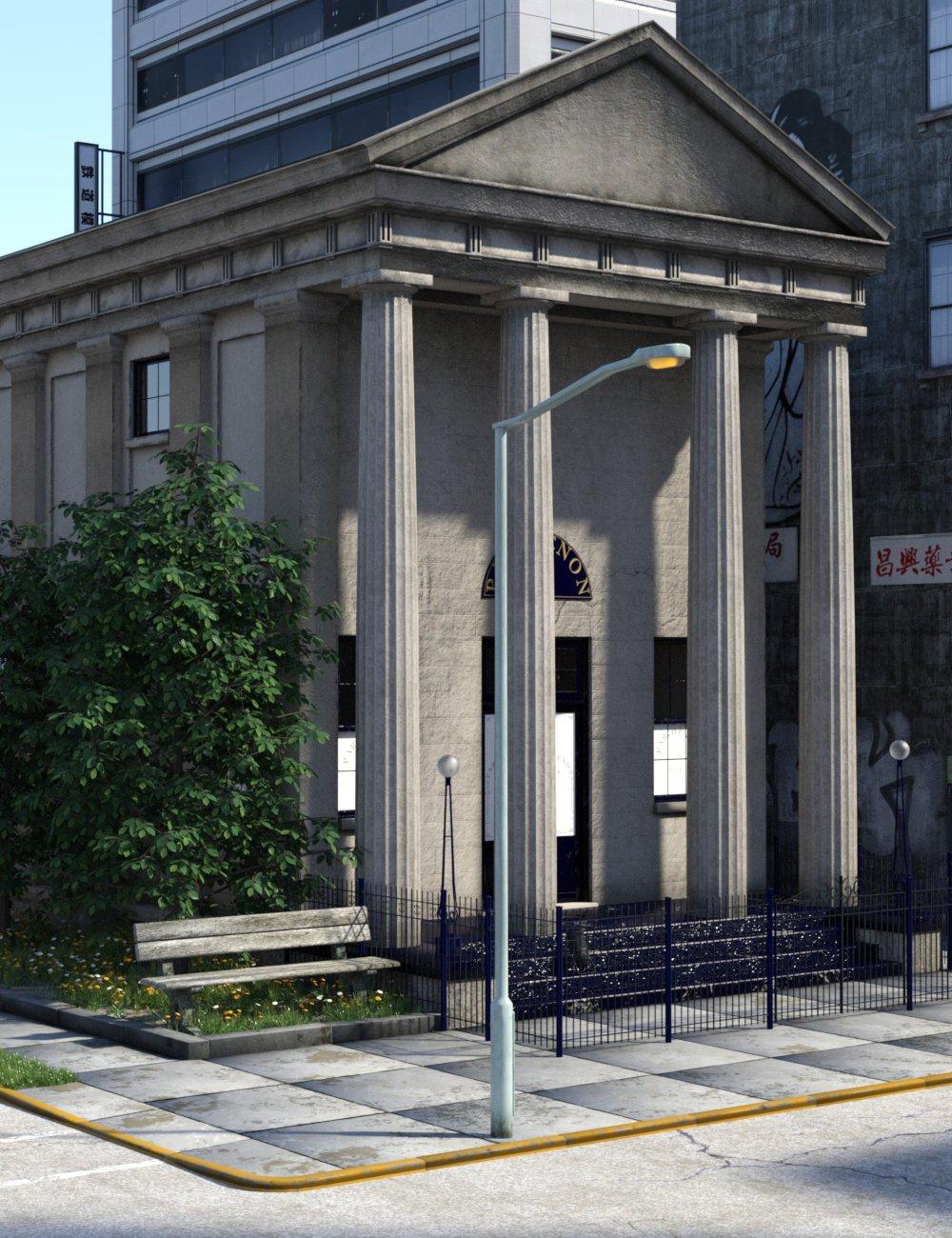 Parthenon Club by: TangoAlpha, 3D Models by Daz 3D