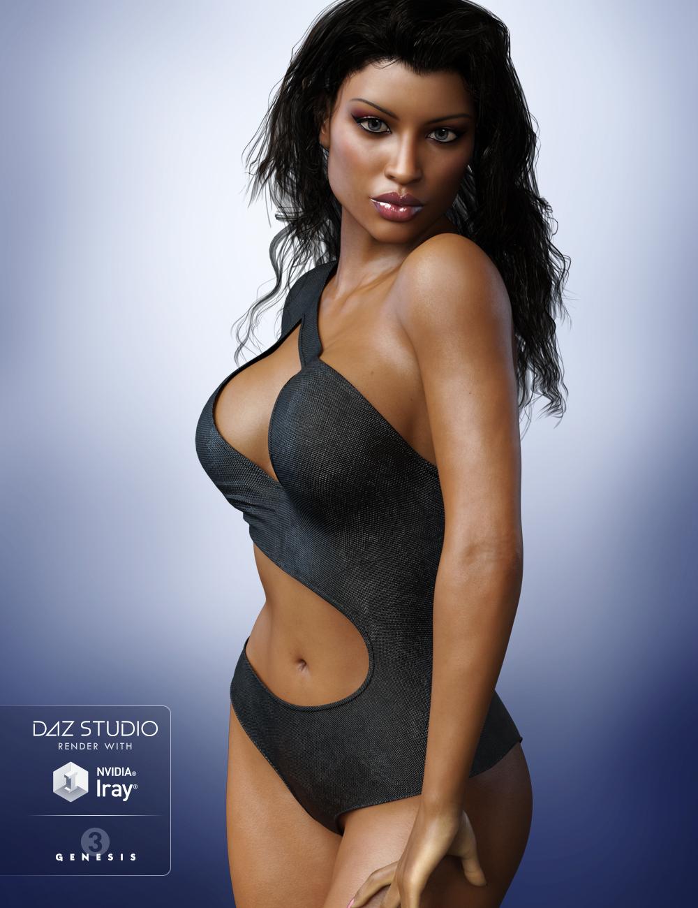 FWSA Tisha HD for Monique 7 by: Fred Winkler ArtSabby, 3D Models by Daz 3D