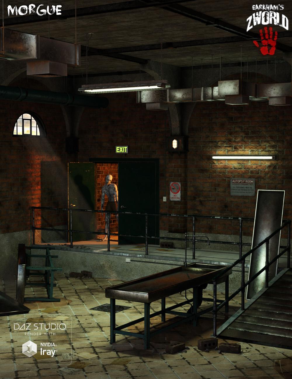 EArkham's ZWorld Morgue by: E-Arkham, 3D Models by Daz 3D