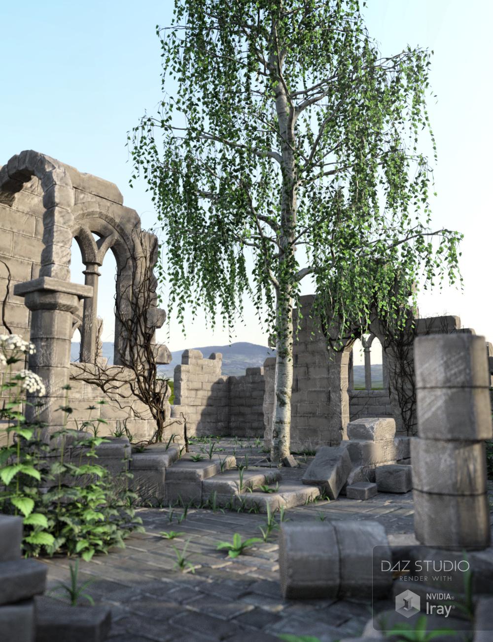 Archaic Ruins by: Merlin Studios, 3D Models by Daz 3D