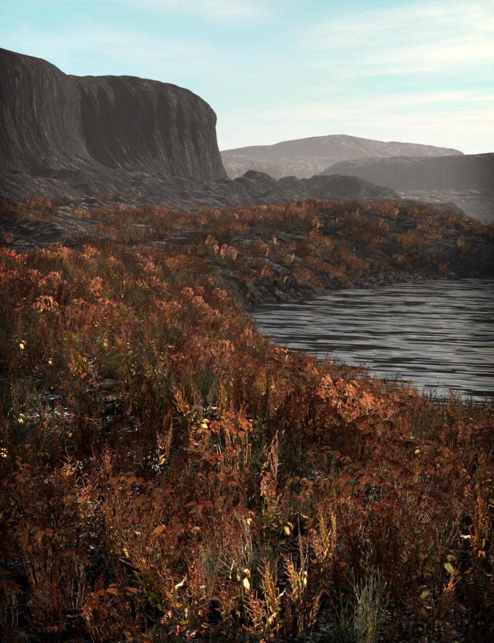 Scattered Plants: Badlands by: esha, 3D Models by Daz 3D