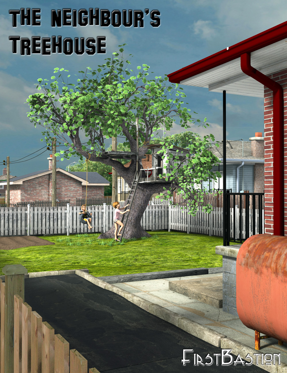 The Neighbour's Treehouse by: FirstBastion, 3D Models by Daz 3D